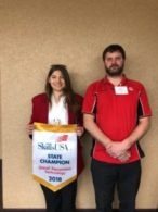 McKenzie Budrow 2018 SkillsUSA Diesel Power Technology State Champion