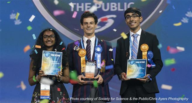 Henry M. Jackson High School senior Dhruvik Parikh, recipient of the Intel Foundation Young Scientist Award