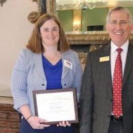 Kelly Shepherd Receives Student Achievement Award