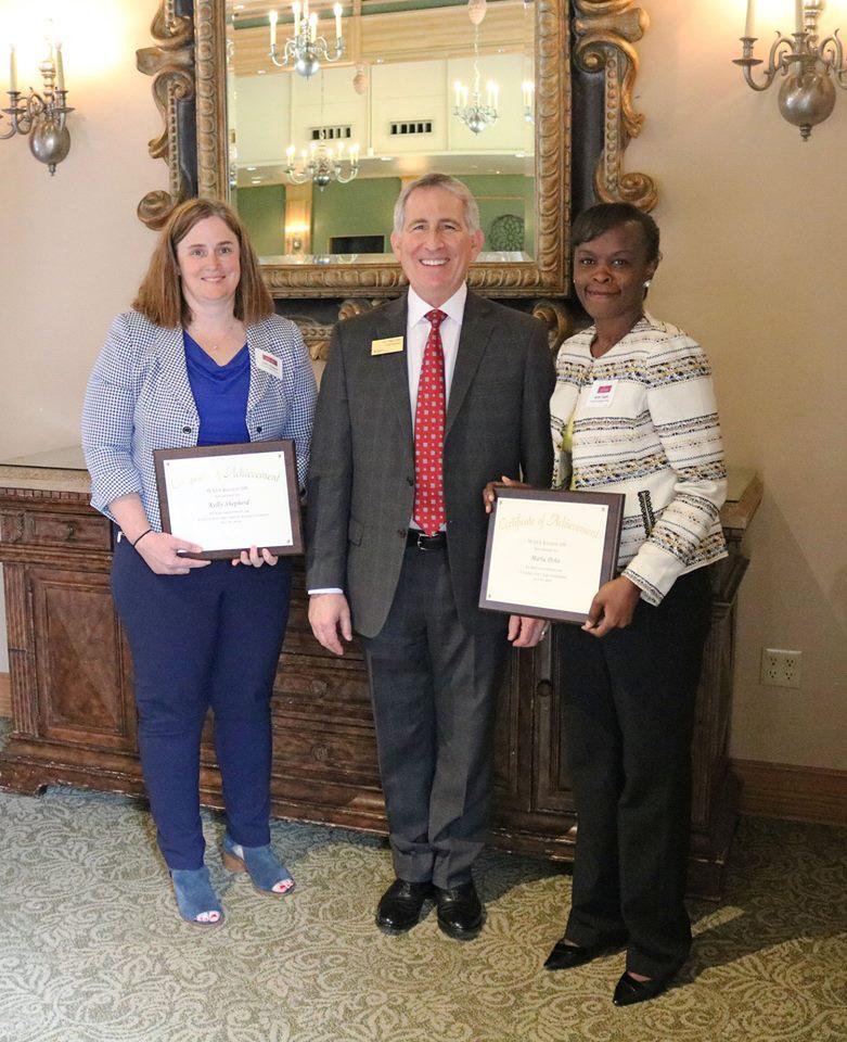 Principal Kelly Shepherd Everett Public Schools' Student Achievement Award